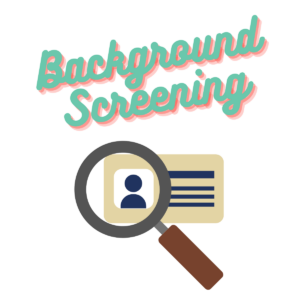 Background screening and identity verification on hosts and guests