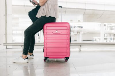 Moving out packing luggage ending rental term tenancy